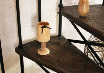 Déco : verres et gobelets bois - L'Atelier de Valérie - 73330 Domessin