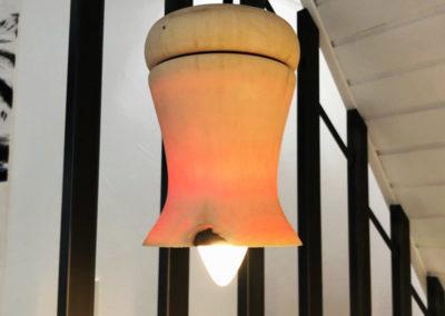 Objets tournés - suspensions bois Pièces uniques - L'Atelier de Valérie, vente en ligne