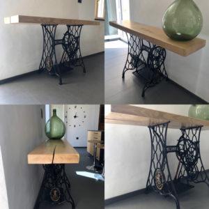 console .L'atelier de valérie .Fabrication artisanale. Pièce unique .Domessin Savoie France